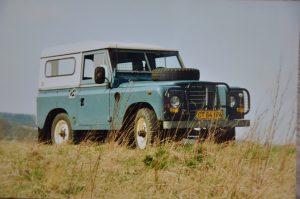 Min første 1:1 Land-Rover.